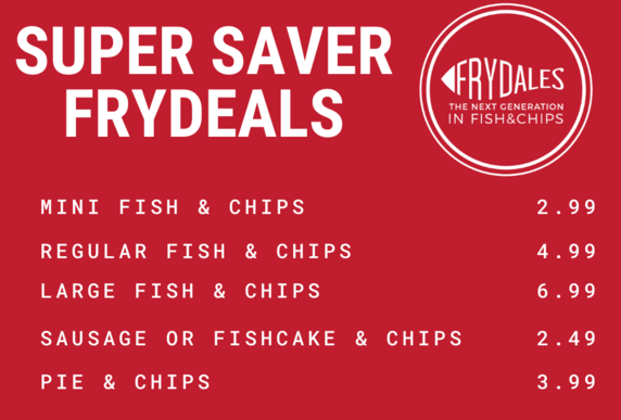 Frydales Fish and chips, Hinckley Road, Leicester